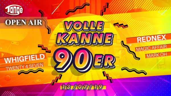 Volle Kanne 90er - OPEN AIR - Live